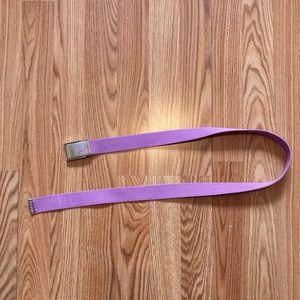Purple Billabong Belt